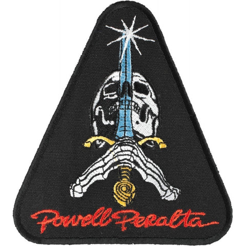 Powell Peralta Skull & Sword Patch 4""