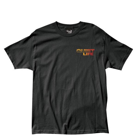The Quiet Life Stacked Tee / Black