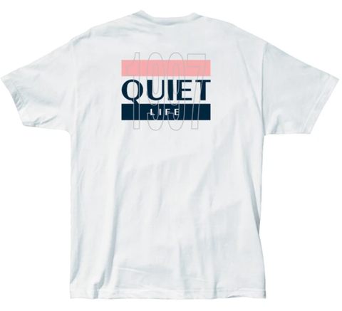 The Quiet Life 97 Flag Tee / White
