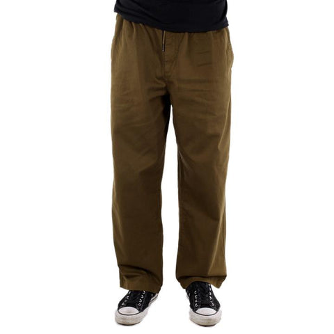 Theories Stamp Lounge Pant / Burnt Olive