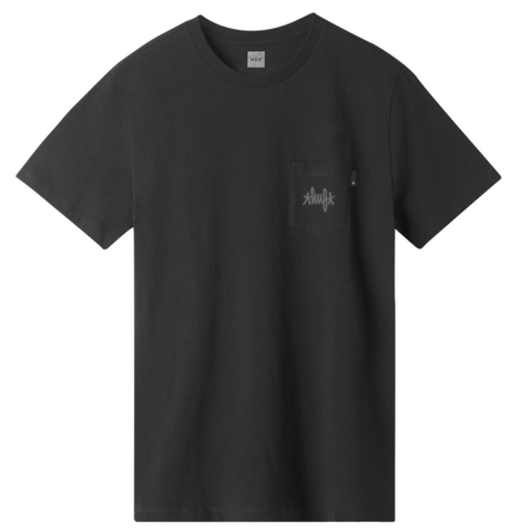 Huf Haze Pocket Tee / Black