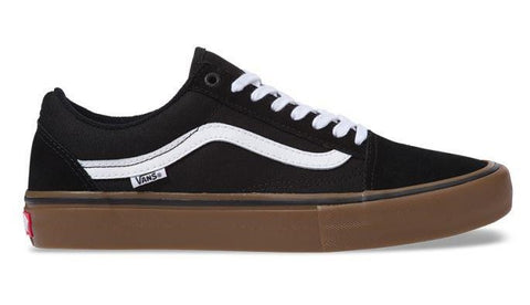 Vans Old Skool Pro / Black / White / Gum