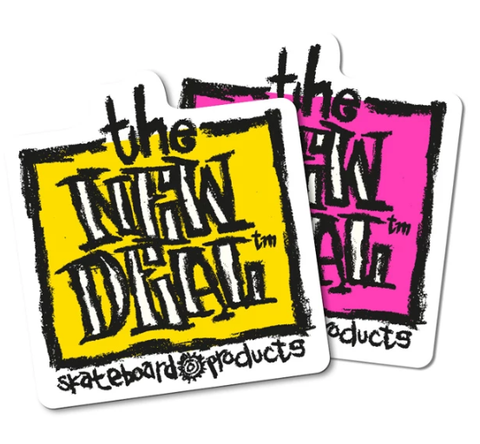 New Deal Napkin Sticker / Assorted Colours