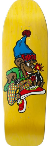 New Deal Sargent Monkey Bomber Reissue SCREENPRINTED Deck 9.625""