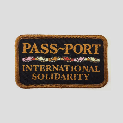 Passport Inter Solid Iron On Patch