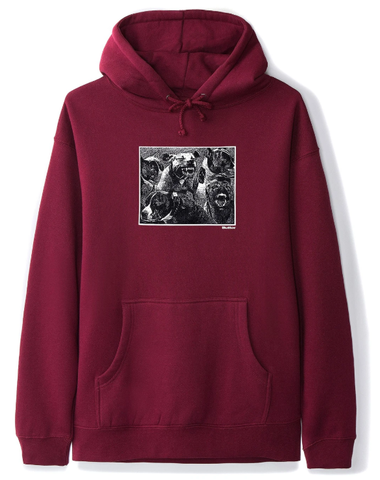 Butter Goods Forgive Pullover Hoodie / Burgandy