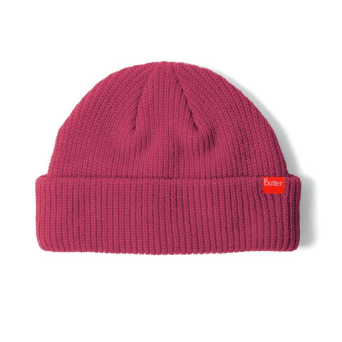 Butter Goods Wharfie Beanie / Berry
