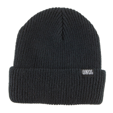 Real Deeds Clip Beanie / Black