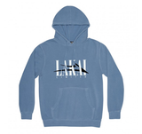 Lakai Interlaced Pullover Pigment Dyed Hoodie / Slate Blue