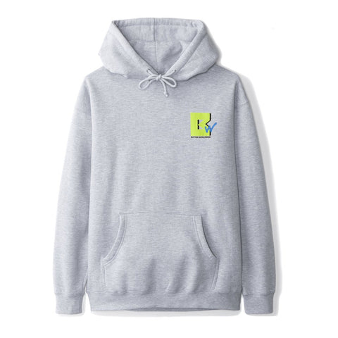 Butter Goods TV Pullover Hood / Heather Grey