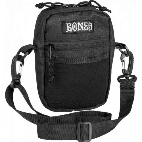Bones Wheels Shoulder Bag / Black