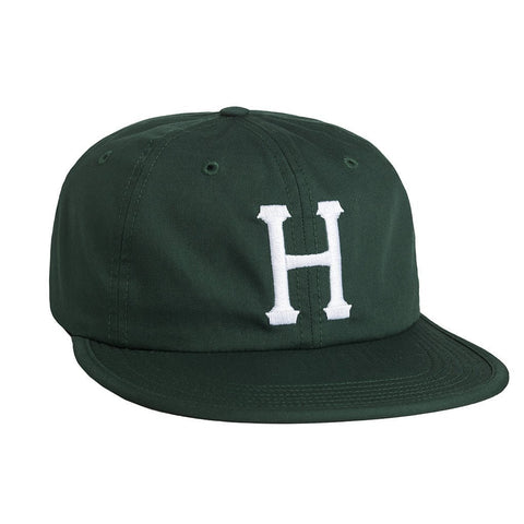 Huf Formless Classic H 6 Panel Hat - Hunter Green
