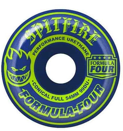 Spitfire F4 Mash Up Conical Full Wheels 54mm