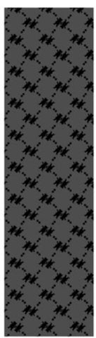 "Grizzly Lap of Luxury Grip Tape 9"" Black"