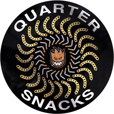 Spitfire x Quarter Snacks Classic Sticker