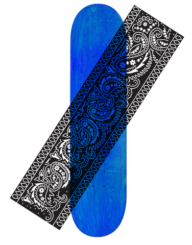 Hard Luck Bandana Clear Grip Tape