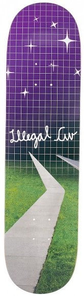 Illegal Civilization Sidewalk Deck 8""