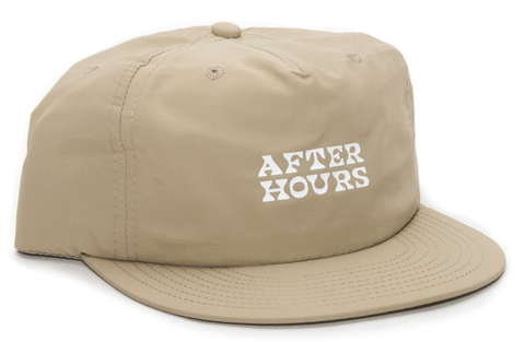 AfterHours Nylon Base Cap / Tan