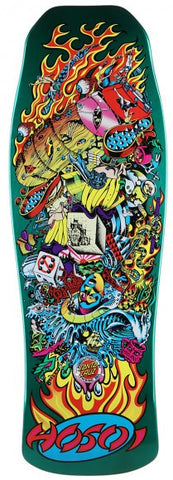 Santa Cruz Hosoi Collage Candy Mint Reissue Deck 10""