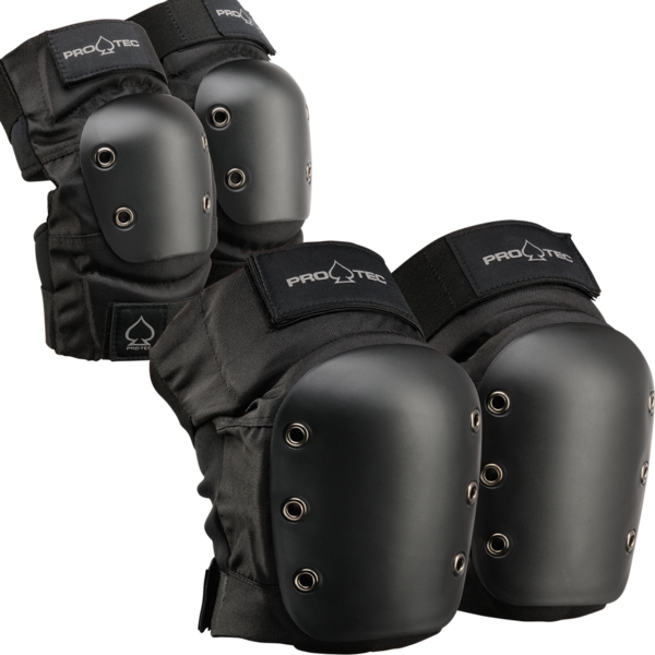 Pro-Tec Elbow/Knee Combo Pack -Black