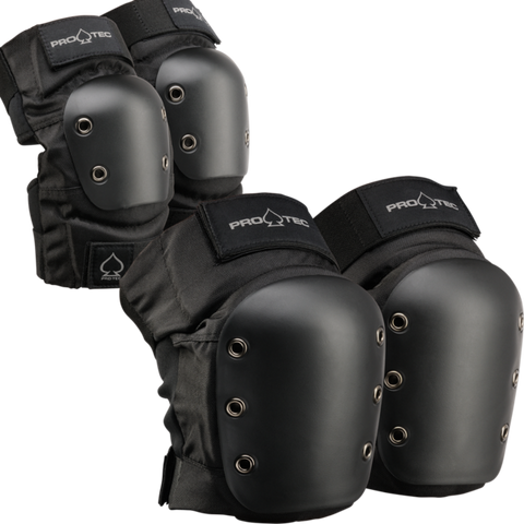 Pro-Tec Elbow & Knee Combo Pack / Black