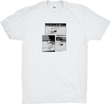 AfterHours Benches Tee / White Marle