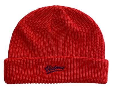 Vic Player Beanie / Red