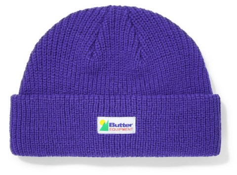 Butter Goods Equipment Wharfie Beanie / Violet