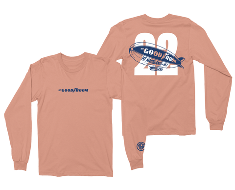 TGR Blimp Long Sleeve Tee / Peach
