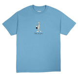 Butter Goods That's All Folks Tee / Carolina Blue