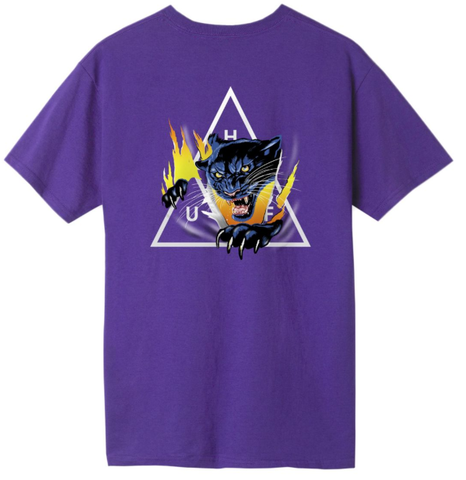 Huf Jungle Cat Tee / Grape