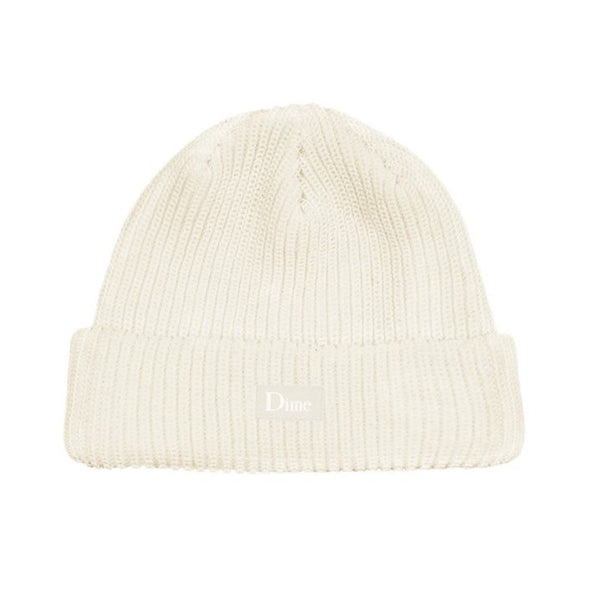 Dime Heavyweight Beanie / Cream