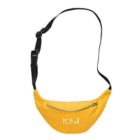Polar Script Logo Hip Bag / Yellow