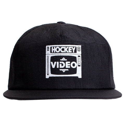 Hockey Budget Video Snapback Hat / Black
