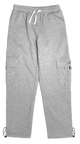 Vic Cargo Sweat Pants / Grey Marle