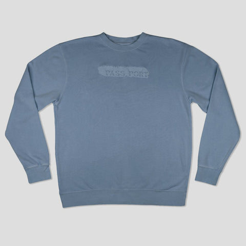 Passport Icy Hot Puff Pigment Dyed Sweater
