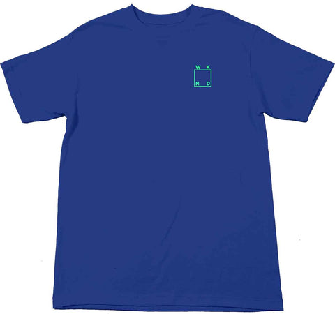 WKND Logo Tee / Royal Blue
