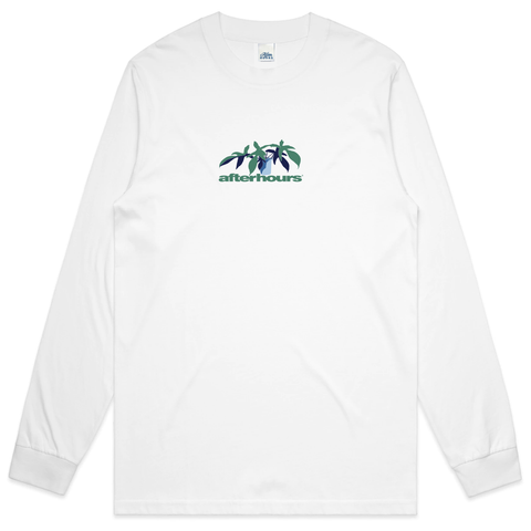 AfterHours X Ashby Florida Long Sleeve Tee / White