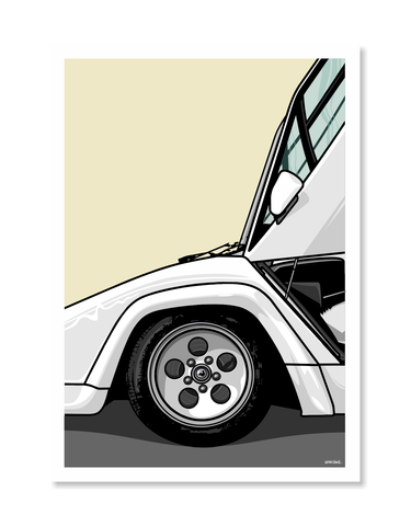 Lamborghini Print by Glenn Smith / A3