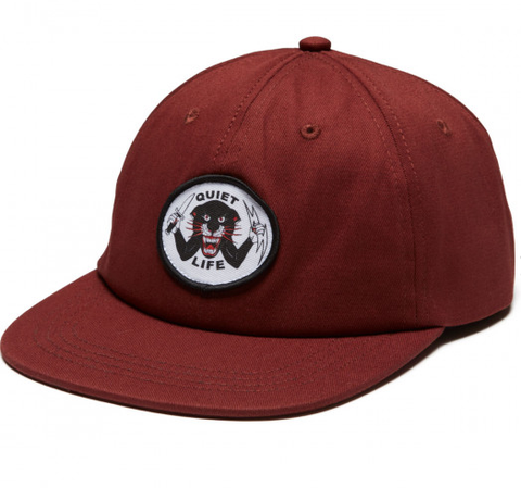 The Quiet Life Venom Panther Cap / Maroon
