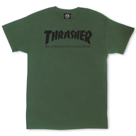 Thrasher Skate Mag Tee / Army Green
