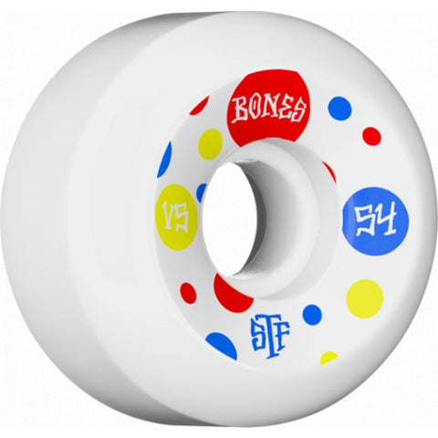 Bones STF Dots Wheels 54mm