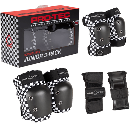 Protec Street Gear Jr. 3 Pack / Checkers