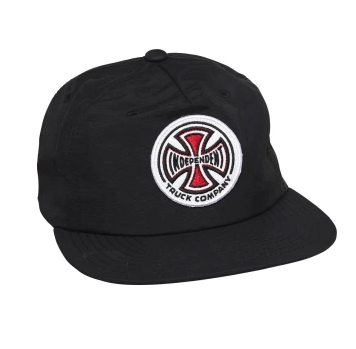 Independent TC Unstructured Snapback Hat / Black