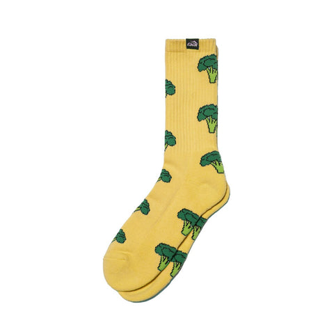 Lakai Broccoli Socks / Cheddar