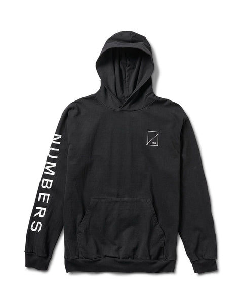 Numbers Edition Wordmark Pullover Hoodie / Black