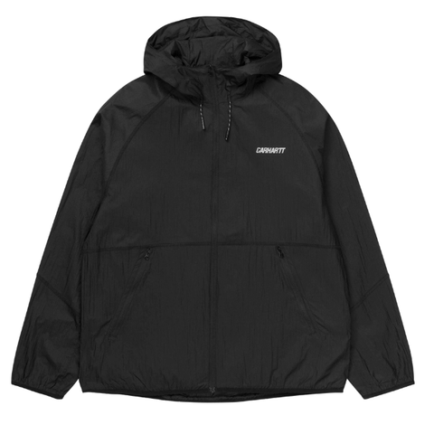 Carhartt WIP Turrell Jacket / Black / Reflective Grey