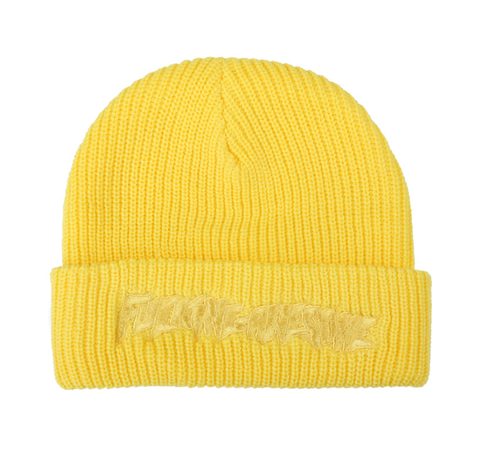 Fucking Awesome Tonal Beanie / Yellow