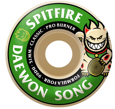 Spitfire F4 Daewon Pro Burner Wheels 51mm