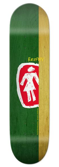 Girl Brophy Pro Sketchy OG Deck 8.25""